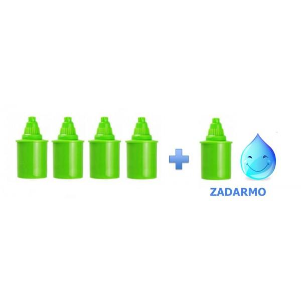 Alkalický vodný filter ZELENÝ 4+1 ZADARMO