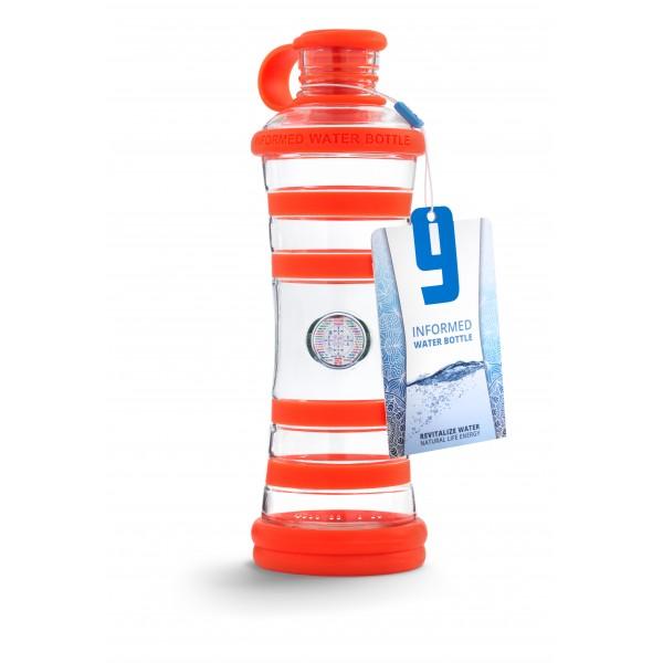 i9 informovana fľaša -  Oranžová