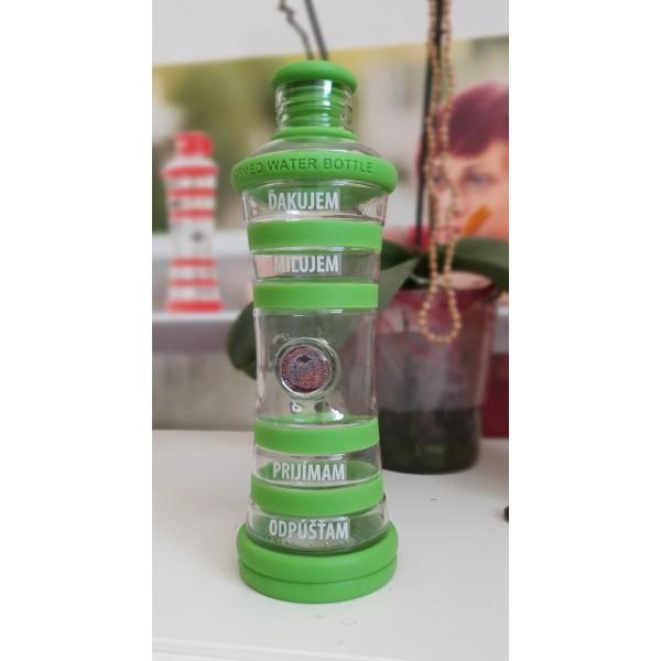 i9 informovana fľaša - Zelená