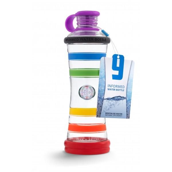 i9 informovaná fľaša - Dúhová